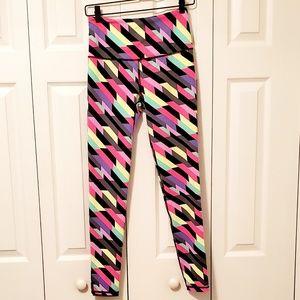 Victoria's Secret Knockout Multicolored Leggings